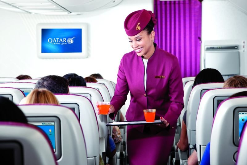 Qatar Airways Cabin Crew1