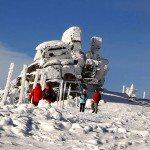 Zimowe szlaki turystyczne w Karkonoszach