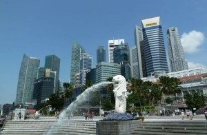 Singapur_Merlion_park