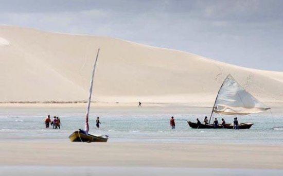 Wydma zachodzącego słońca - Jericoacoara, najpiękniejsza plaża na świecie