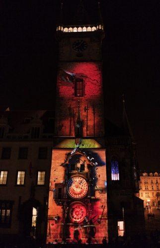 Czechy_Video-mapping_Orloj7_2