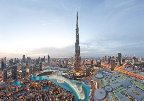 Burj Khalifa (Dusk) Panorama