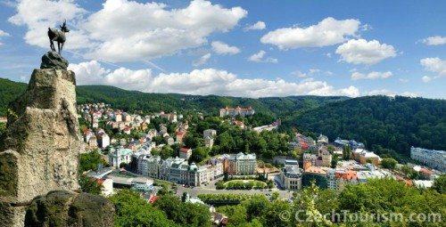 Karlowe Wary_panorama miasta