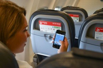 Air Berlin Tablet -Fotos in München. Foto:Daniel Biskup