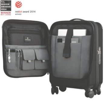 VICTORINOXSpectra20Dual_Access Global Carry On_Black_Awards