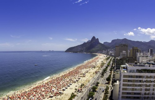 16392308 - sunny day on ipanema beach